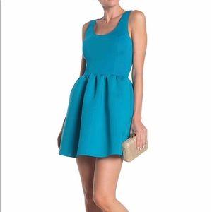 NWOT Love...Ady Fit & Flare Scuba Mini Dress